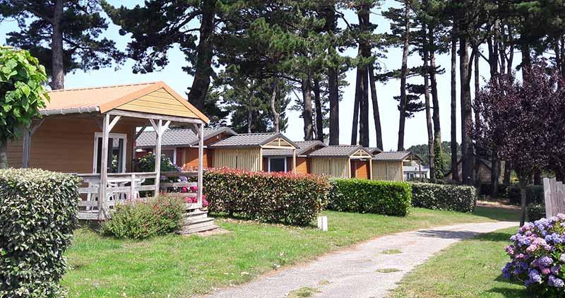Location Chalet Camping Belle Ile Dans Le Morbihan